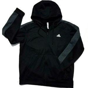 Adidas fleece lined hoodie, size XL
